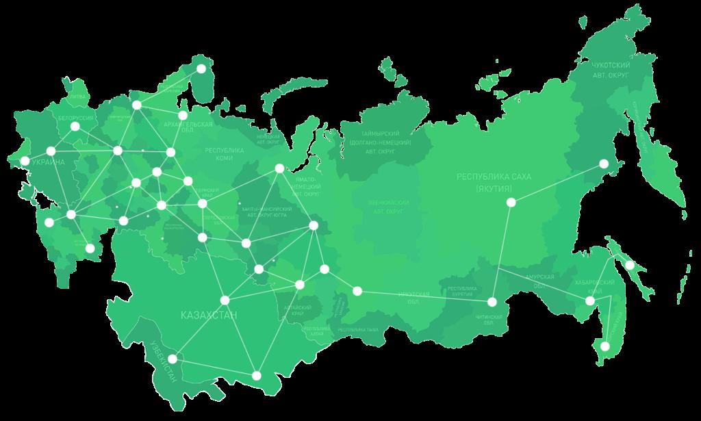 Карта на сайте Москва