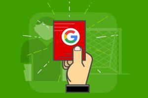 Фильтры и санкции от Google накладываются за разные нарушения правил